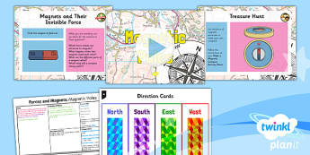 Science: Forces and Magnets: Magnetic Poles Year 3 Lesson Pack 5