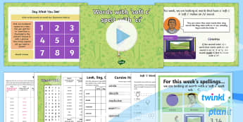 PlanIt Spelling Year 4 Term 2B W3: Words With a Soft c Spelt With ci Spelling Pack - Spellings Year 4, Y4, SPaG, GPS, weekly, weeks, spelling, soft c, lists, assessment, tests,