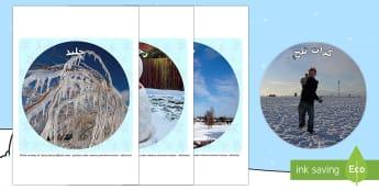 صور دائرية للعرض عن موضوع الشتاء - شتاء، الشتاء، فصول السنة، عربي، الصور، صور، قصاصات، مف