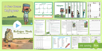 World Refugee Day KS2 Resource Pack - syria, camps, home, refugees, powerpoint, Assembly, Activity, Activities,