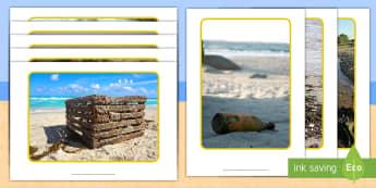 Beach Flotsam and Jetsam Photo Pack - Flotsam, Jetsam, beach, seaside, exploration,