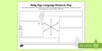 Baby Sign Language Research Map - babysign, baby sign language, tinytalk, sing and sign, makaton, singing hands, cbeebies, mr tumble,