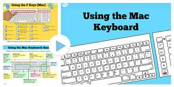 Using the Mac Keyboard Help PowerPoint - ICT, IT, computing