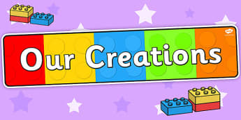 Our Creations Display Banner - header, display design, technology