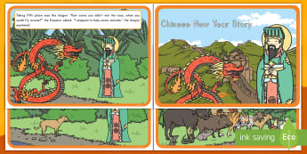 Chinese New Year Story - Chinese New Year, story, China, cultural celebrations, lunar calendar, around the world, zodiac, soc