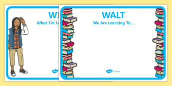 Editable WILF-WALT Display Signs - What I am looking for, we are learning to, WILF, WALT, success criteria, criteria. Editable sign, display, poster