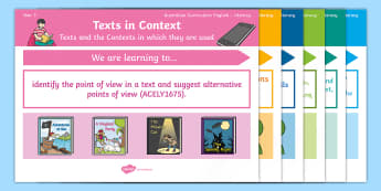 Australian Curriculum English: Year 3 Literacy Content Descriptions Display Posters - Learning Intention, ACARA, WALT, Learning Objective, Learning Goal, Goals, Content Descriptors, Lite