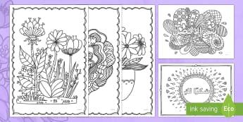 صفحات تلوين لعيد الأم - عيد الأم، عربي، تلوين، الأم، احتفالات,Arabic