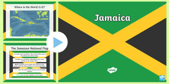 KS2 Jamaica Information PowerPoint - caribbean, Jamaica, compare locations, all about jamaica, islands