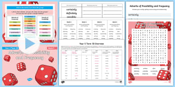 Year 5 Term 1B Week 5 Spelling Pack - Spelling Lists, Word Lists, Autumn Term, List Pack, SPaG