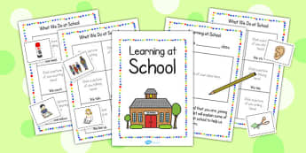 New EAL Starter Learning at School Booklet - EAL, new starter