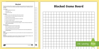 Blocked Number Rods Area Board Game - Cuisenaire, number rods, area, array, multiplication, game