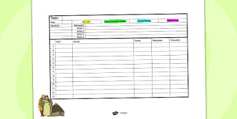 Iron Age Themed Mid Term Planning Template - history, planning