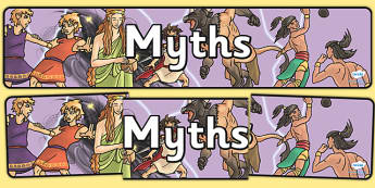 Myths Display Banner - myths, display banner, display, banner, legends
