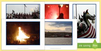 Up Helly Aa Display Photos-Scottish - CfE, calendar events, Scotland, Scottish, traditions, history, celebrations, Shetland, Lerwick, Viki