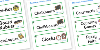 Opal Themed Editable Additional Classroom Resource Labels - Themed Label template, Resource Label, Name Labels, Editable Labels, Drawer Labels, KS1 Labels, Foundation Labels, Foundation Stage Labels, Teaching Labels, Resource Labels, Tray Labels, Pri