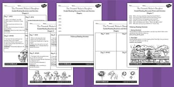 The Firework Maker's Daughter Guided Reading Activities
