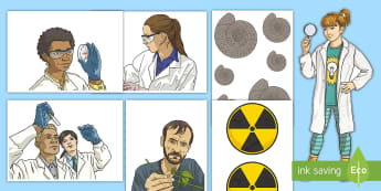 Scientists Display Cut-Outs - Porter Croft Displays, science, scientists, investigations, ks2, ks3, cut-outs, images