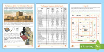 UKS2 The Mystery of The Putrid Pumpkin Poisoner Maths Game - Place Value, UKS2 maths, Y6 maths, year 6 maths, Y5 maths, year 5 maths, maths games, problem solvin