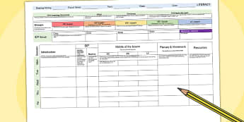 picture about Weekly Planning Templates named Instructor Organisation, Developing and Investigation Templates