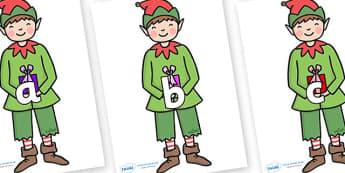 Phase 2 Phonemes on Elf (Plain) - Phonemes, phoneme, Phase 2, Phase two, Foundation, Literacy, Letters and Sounds, DfES, display