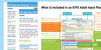EYFS The Gingerbread Man Adult Input Planning and Resource Pack Overview - The Gingerbread Man, Traditional Tales, gingerbread, Christmas