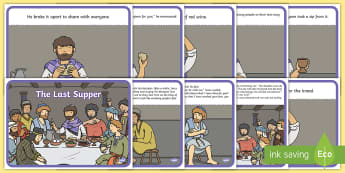 The Last Supper Story - Easter, stories, christianity, religion