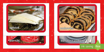 Świąteczne zdjęcia na gazetkę - gwiazdka, barszcz, makowiec, kapusta, potrawy, wigilia, wigilijne, choinka, bombki, ozdoby, dekoracj
