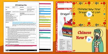 Dragon Costume Craft Adult Input Plan and Resource Pack - dragon, costume, craft, adult input, pack