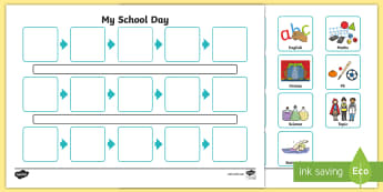 photograph about Free Printable Visual Schedule for Classroom named Visible Timetables - Principal Materials