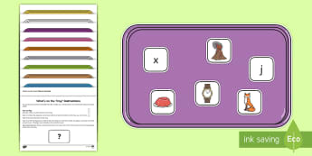 What's on the Tray Phase 3 Memory Activity Pack - phase 3, phase three, phonics, phonics memory game, Memory Game, Working Memory, Teachers of the Dea