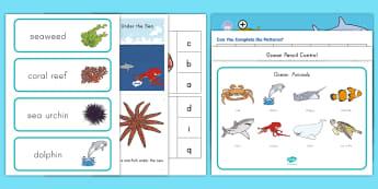 Ocean Habitat Early Childhood Resource Pack - ocean, Ocean habitat, ocean creatures, under the sea, oceans early childhood