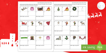Advent Working Memory Number Order Activity - memory, cognitive, thinking skills, ordering, positional, numeracy