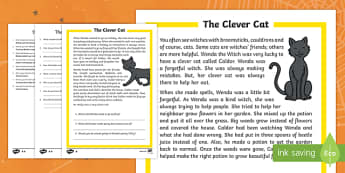 The Clever Cat Differentiated Reading Comprehension Activity