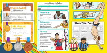 Measure Olympics Challenge Pack