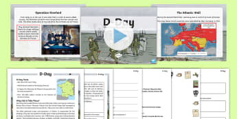 D-Day KS2 Resource Pack - Adolf, Hitler, War, World War Two, soldiers, army, veterans, remembrance