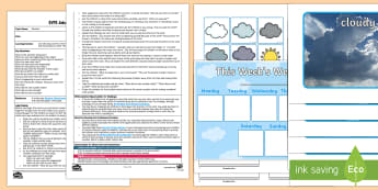 EYFS How Do We Know It Is Windy? Adult Input Plan and Resource Pack - Understanding the World, The World, Plants, Nature, Trees, Senses, Observations, Outdoors, Phonics,
