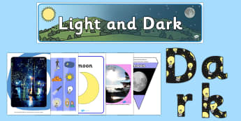 Light and Shadows Display - - light and dark, light and shadows, night and day, science,