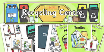 Recycling Centre Role Play Pack-recycling, recycling centre, role play, role play pack, recycling centre pack, recycling centre role play