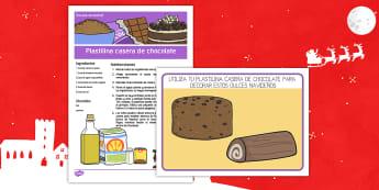 Receta sensorial: Plastilina casera de chocolate Receta sensorial - receta sensorial, sentidos, plastilina, plastilina casera, chocolate,Spanish