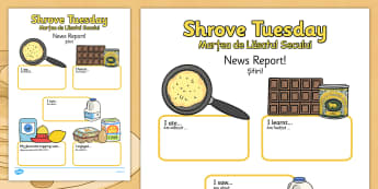 Shrove Tuesday Event Writing Report Romanian Translation - romanian, shrove Tuesday, writing