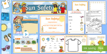 Sun Safety Resource Pack - sun safety pack, sun, safety, awareness, sun awareness, protection, sun screen, sun banner