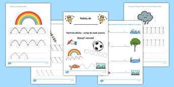 Zeszyt ćwiczeń Wstęp do nauki pisania po polsku - przedszkole