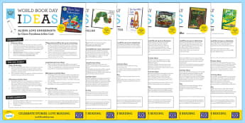 EYFS World Book Day Activity Ideas Resource Pack - World Book Day, books, reading, favourite books, favourite stories, world book day activities