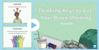 Materials Thinking Keys PowerPoint - science, materials, thinking keys, thinkers keys, properties and characteristics of materials, mater