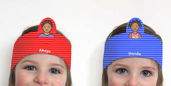 Handas Surprise Role Play Headbands - roleplay, props, stories
