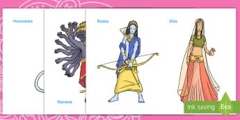 Diwali Marionete - joc de rol, religii, comunicare, activități, hinduism