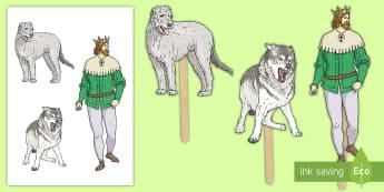 Pypedau Ffon Gelert - Llywelyn, castell, castle, Gogledd Cymru, North Wales, blaidd, wolf,Welsh