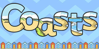 Coasts Display Lettering - coasts, display, lettering, letters