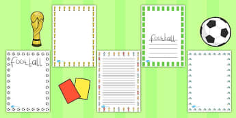 Womens Football World Cup 2015 Page Borders - page borders, 2015